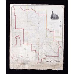 The Official Map of Lewis & Clark County, Montana
