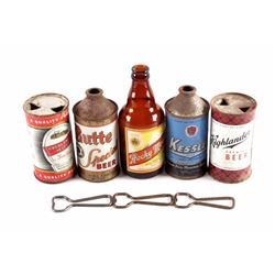 Montana Beer Can Bottle Opener Collection