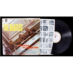 "Beatles Please Please Me ZTOX 5550 12"" LP"