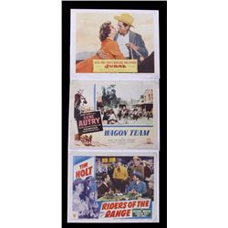 Original Cowboy Western Movie Lobby Cards