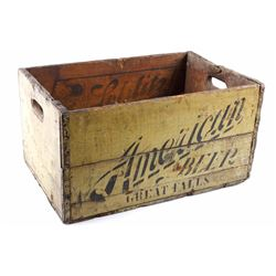 American Brewing Co. Pre Prohibition Beer Crate