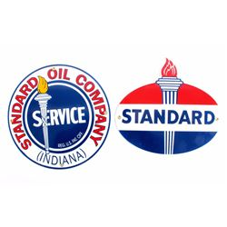 Standard Oil Porcelain Advertising Signs