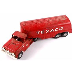 Buddy L Texaco Tanker Stamped Steel Toy Truck