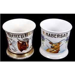 Butchers Occupational Shaving Mugs