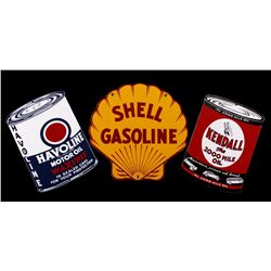 Porcelain Enamel Petroliana Advertising Signs