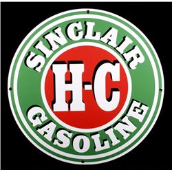 Sinclair H-C Gasoline Petroliana Advertising Sign