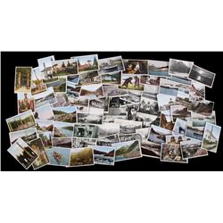 71 Antique Alaska Postcards