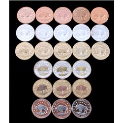 Buffalo Commemorative Dollar Coin Collection