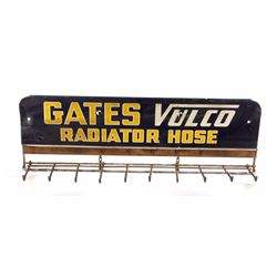 Gates Vulco Radiator Hose Advertising Hanger