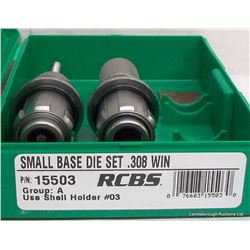 RCBS DIE SETS 308 WIN