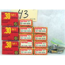 341 RNDS 30 CAL. M-1 AMMO