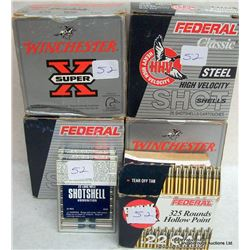 BOX LOT AMMUNITION