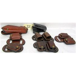 BOX LOT HOLSTERS & MAG HOLDERS