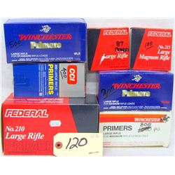 3100 LARGE RIFLE PRIMERS
