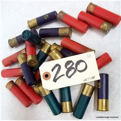 BOX LOT 16GA AMMUNITION