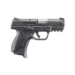 "RUGER AMERICAN 9MM 3.55"" 17RD BLK"