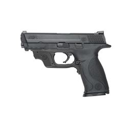 "S& W M& P 9MM 4.25"" BLK 17RD CMT GRN"
