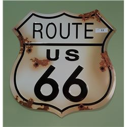 ROUTE 66 SST SIGN