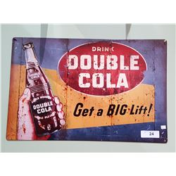 DOUBLE COLA SST SIGN