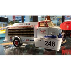 DIE CAST PEPSI COLA BOTTLE TRUCK