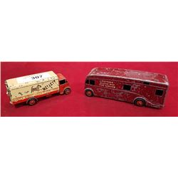 TWO DINKY TOY TRUCKS