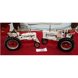 TWO DIE CAST FARMALL TRACTORS
