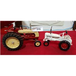 TWO DIE CAST TRACTORS