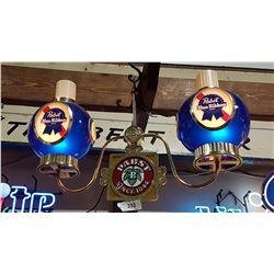 PABST BEER HANGING BAR LIGHTS