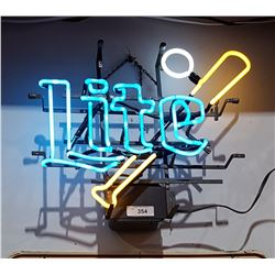 LITE BASEBALL NEON SIGN