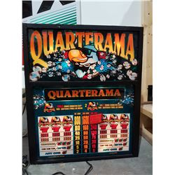 QUARTERAMA LIGHT UP SLOT MACHINE TOPPER