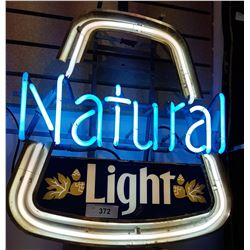 NATURAL LIGHT BEER NEON SIGN