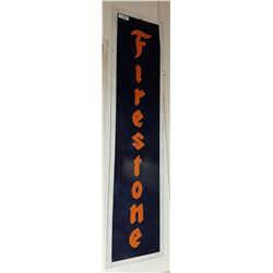 CUSTOM MADE FIRESTONE METAL SIGN