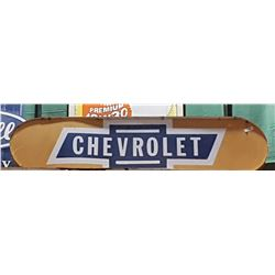CHEVROLET LIGHT UP SIGN
