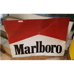 MARLBORO TOBACCO TIN SIGN