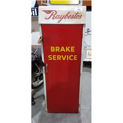 RAYBESTOS BRAKE SERVICE CABINET W/CONTENTS