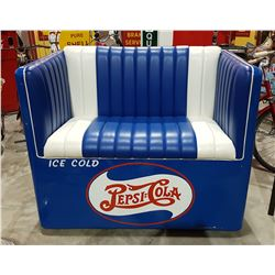 UNIQUE PEPSI COLA COOLER BENCH