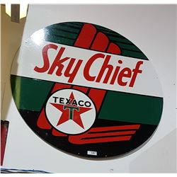 CUSTOM MADE TEXACO SKYCHIEF SIGN