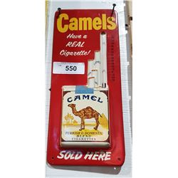 VINTAGE EMBOSSED CAMEL CIGARETTES THERMOMETER