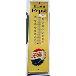 VINTAGE PEPSI COLA THERMOMETER