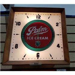 PALM ICE CREAM CLOCK