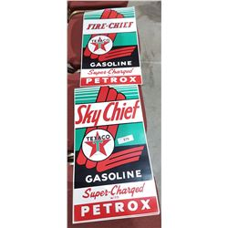 THREE TEXACO DECALS