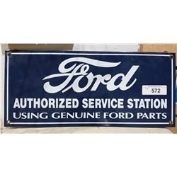 PORCELAIN FORD SIGN