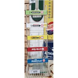 VINTAGE WRIGLEYS COUNTER TOP GUM DISPLAY