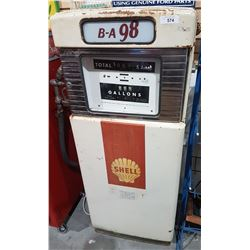 VINTAGE WAYNE UNRESTORED GAS PUMP