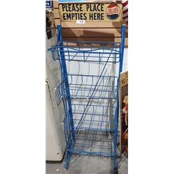 VINTAGE PEPSI COLA POP RACK