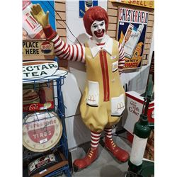 AUTHENTIC RONALD MCDONALD STATUE