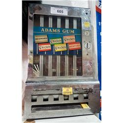 VINTAGE CHICLETS GUM MACHINE