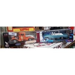 TWO NIB DIE CAST CARS