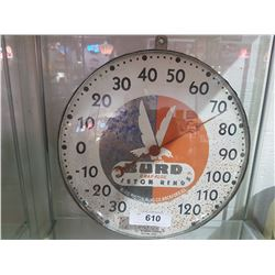 VINTAGE BIRD PISTON RINGS THERMOMETER