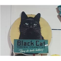 CUSTOM MADE BLACK CAT SIGN